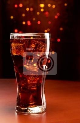 Cola con hielo