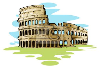 Coliseo Romano Carteles Para La Pared Pósters Imperial Gladiador