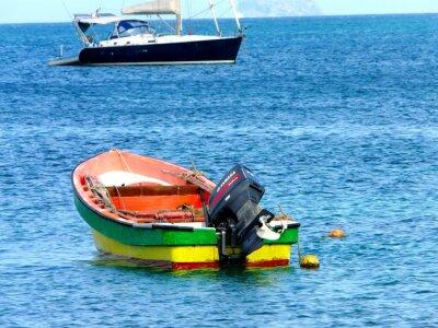 coloré bateau