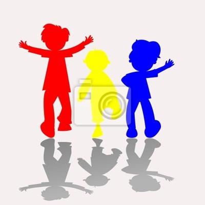 colores siluetas de los cabritos 2
