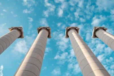 Póster Columnas griegas