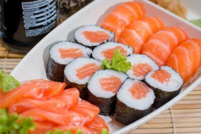 Póster comida japonesa
