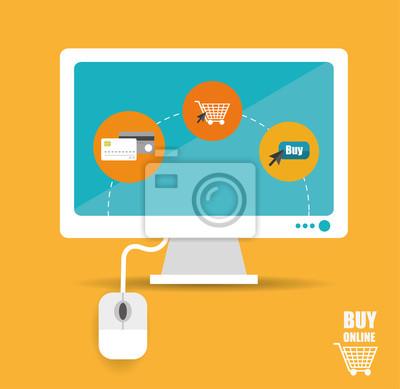 Comprar en línea vector