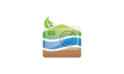 Póster Concepto de Eco