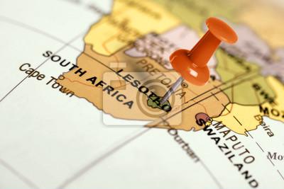 Contacto rojo en el mapa.