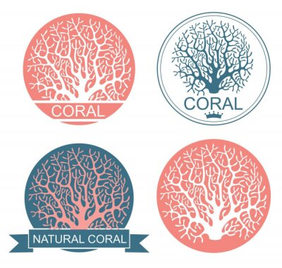Póster Coral