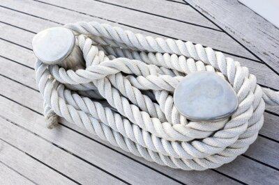 Póster Corda legata ad Una barca