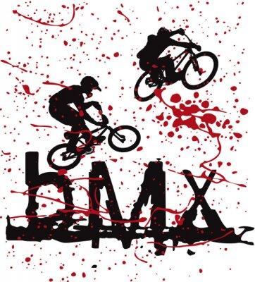 Corredores de BMX