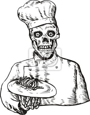 Cráneo del cocinero