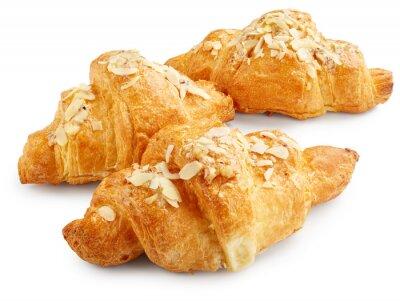 Póster Croissants dulces frescos