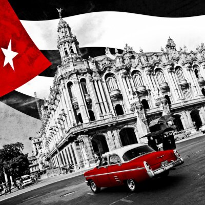 Póster Cuba (n & b)