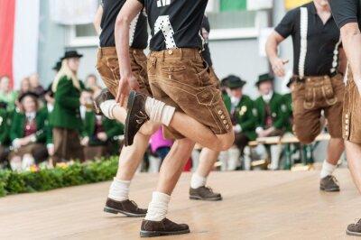 Póster Danza folclórica Austria