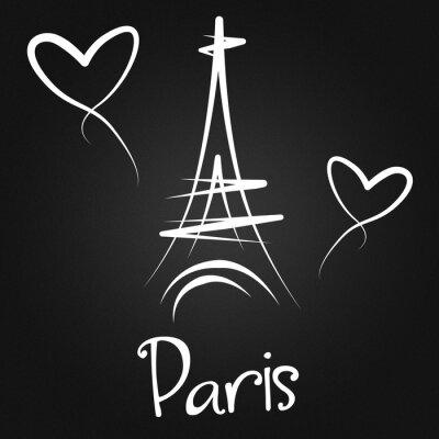 Póster De Paris con amor