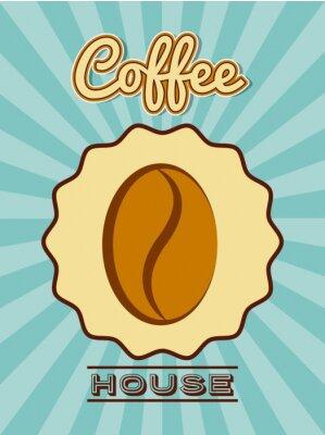 Póster Delicioso café diseño
