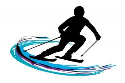 Póster Deportes de invierno - 14