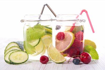 Póster Desintoxicación de agua