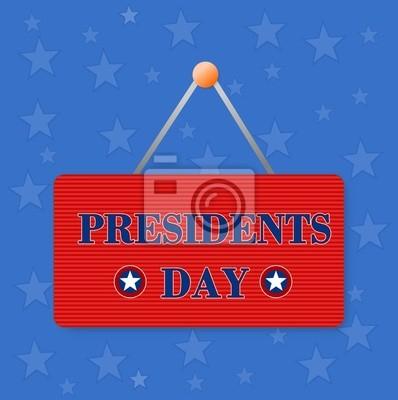 Día de los Presidentes de la ilustración