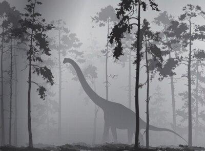 Póster dinosaurio