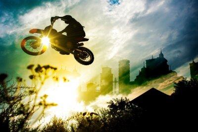 Póster Dirt Jump Urban Bike