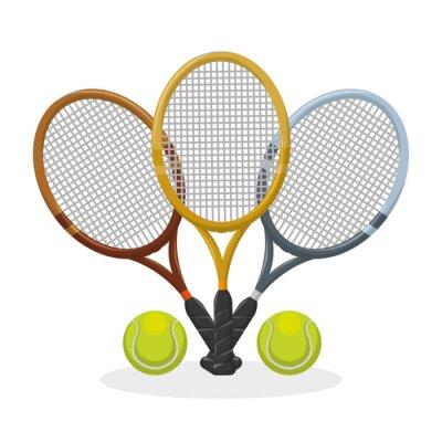 Póster Diseño de icono de deporte