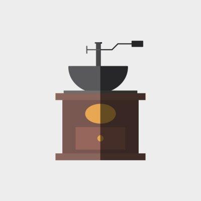 Póster Diseño de iconos de café