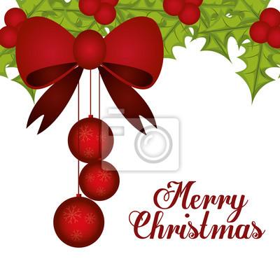 Diseño de la Feliz Navidad