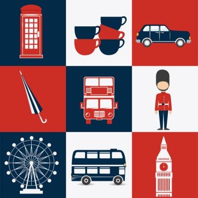 Póster Diseño de Londres.