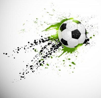 Póster Diseño del fútbol
