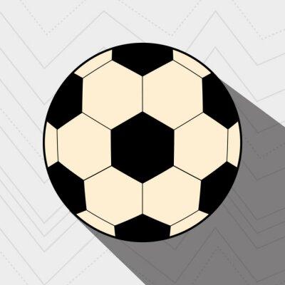 Póster Diseño del fútbol del fútbol