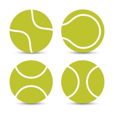 Póster Diseño del tenis