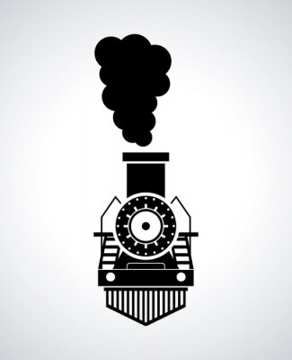 Póster diseño del tren