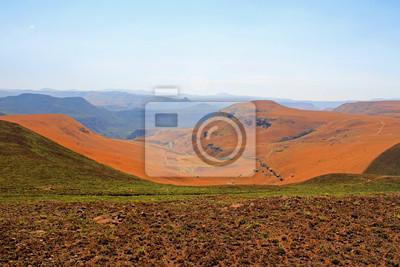 Drakensberg - montañas Dragón paisaje