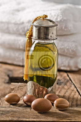 El aceite de argán y frutos