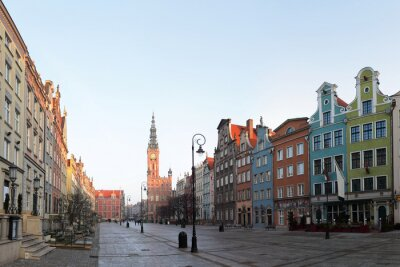 El casco antiguo de Gdansk