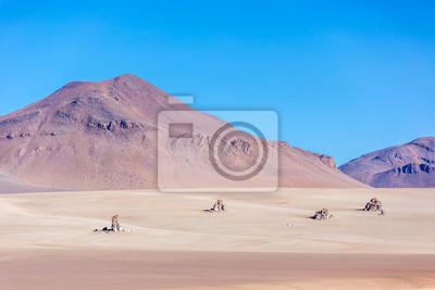 El desierto de Salvador Dalí en los Andes en Bolivia
