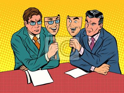 El diálogo empresarial es una comunicación poco sincera