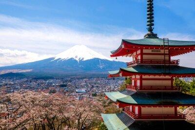 Póster El monte Fuji, Japón