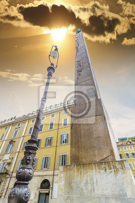 El obelisco en Roma