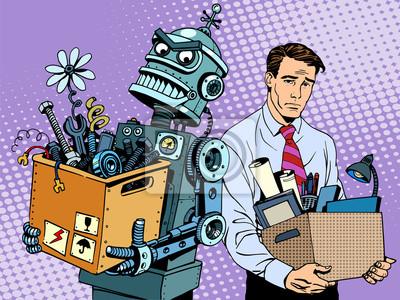 El robot de las nuevas tecnologías sustituye