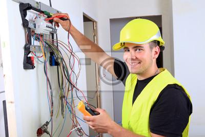 Póster electricité