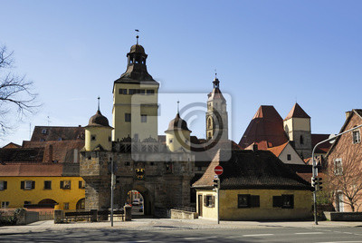 Ellinger Tor en Weißenburg
