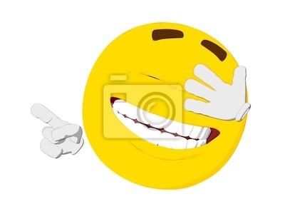 Emoticon Risa Carteles Para La Pared Pósters Personalidad