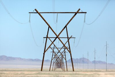 Endless power lines