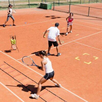 Póster Entrenamiento de tenis cardio