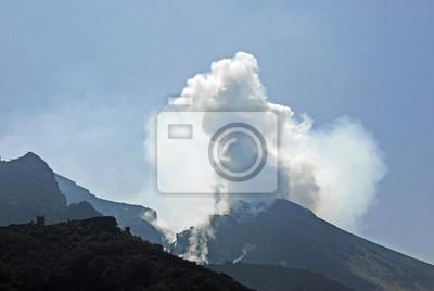 Erupciones en Stromboli