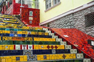 Póster Escadaria Selaron, Río de Janeiro, Brasil
