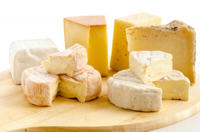 Póster especialidades internacionales queso