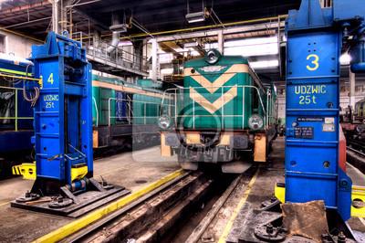 Estación de tren polaca Vieja
