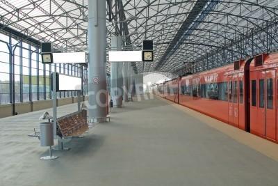 Póster Estación Sheremetyevo, Moscom, Rusia