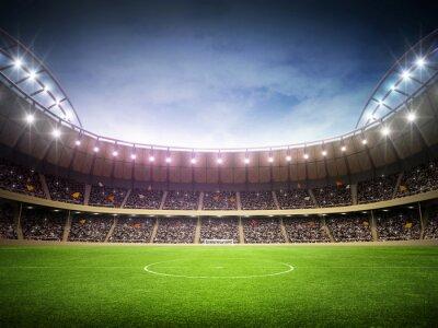 Póster Estadio noche